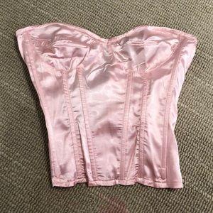 Pink corset top!